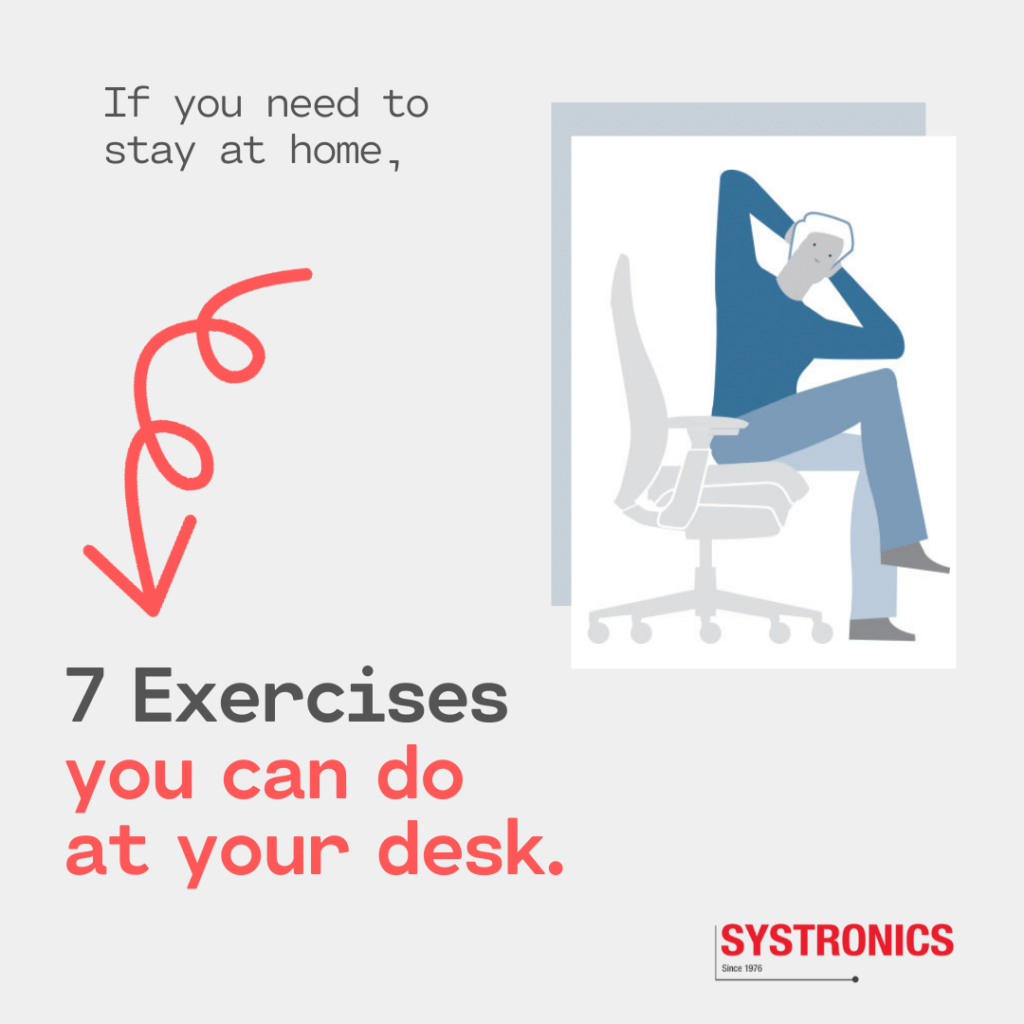 7 Desk Exercises